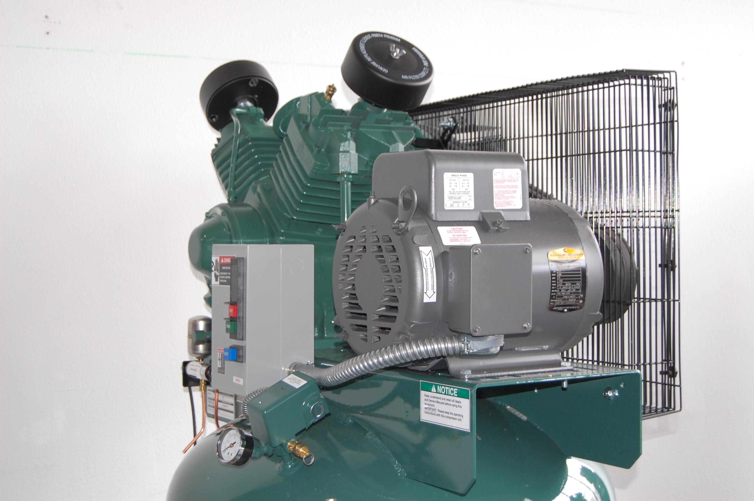 Base Vertical 230v Single Phase The Best Compressor