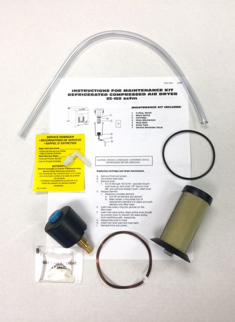 Keep your Air Dryers at their best with our Air Dryer Maintenance Kit.