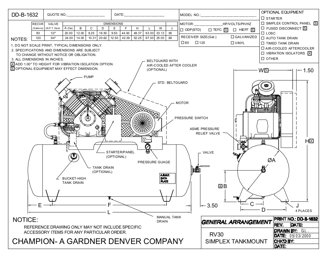 gardner denver motor wiring diagrams